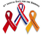 2015 Race for the Ribbons Logo
