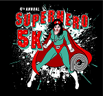 Superhero 5K Logo